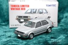 [TOMICA LIMITED VINTAGE NEO LV-N71d 1/64] VOLKSWAGEN GOLF II CLi (Silver)