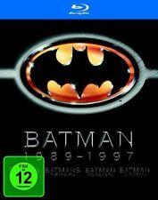 BATMAN 1989-1997 (4 Blu-ray Discs) NEU+OVP