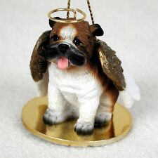 BULLDOG English Bull Dog Angel Dog Ornament Figurine Statue