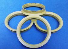 (R20) 4x  Zentrierringe  72,5 / 66,6 mm gelb für Alufelgen