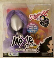 Moxie Girlz  Magic Hair purple doll Wig  & Jewelry Set by MGA Inc NMIB