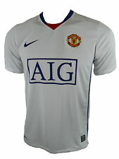 Nike Manchester United bambini MAGLIA JERSEY BIANCO gr.128-140
