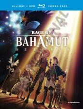 RAGE OF BAHAMUT Genesis Complete Series Ep. 1 -12 (U.S. Release Blu-ray + DVD)
