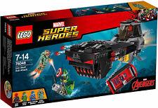 LEGO SUPER HEROES MARVEL IRON SKULL SUB ATTACK 76048 NUEVO PRECINTADO SIN ABRIR