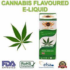 Cannabis Flavour E Liquid Vapour 10ml Juice Weed Marijuana Vaping Refill Oil  UK
