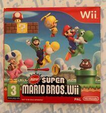 New Super Mario Bros - Nintendo Wii Game - NEW / SEALED - UK PAL