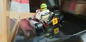 Minichamps F1 kart Paris Bersy Ayrton Senna 1993 1:18