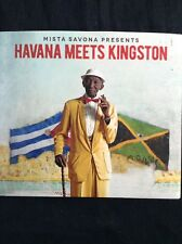 MISTA SAVONA presents HAVANA MEETS KINGSTON 2017 CD Latin vibes,dub,reggae, funk