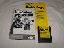 Sesame Street Ernie's Magic Shapes Cartridge Commodore 64 C64