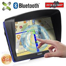 "XGODY 7"" 8GB Car Capacitive GPS Navigation Lorry Coach Sat Nav Bluetooth POI UK"