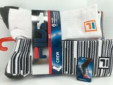 Men's FILA BOLD COLORS Cushioned Athletic Crew Socks - 6 PACK - $36 MSRP - 25%