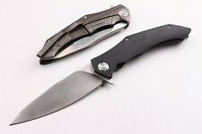 """Assisted Opening Free.Wolf Knife 9.45"""" locking Liner G10 Handle Tool Original"""