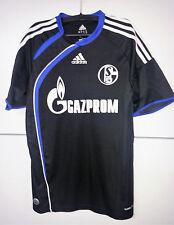 Adidas Trikot Schalke 21 Schmitz Gazprom schwarz das Schönste 176