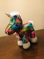 Rainbow Unicorn Plush Stuffed Animal Toy NWT