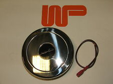 CLASSIC MINI - WOOD & PICKETT ALLOY MPI STEERING WHEEL HORN PUSH WPA9653X-HPS