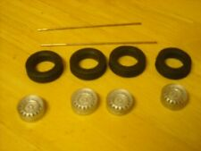 """1/24th scale Dunlop wheels K&R Replicas for cars with 15"""" wheels"""