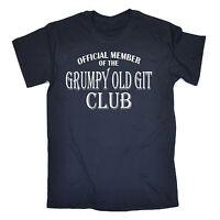 Grumpy Old Git Club T-SHIRT Dad Grandad Geek Joke Fashion Funny Gift Birthday