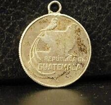 Médaille Républica de Guatemala silver plata 1943 Quetzal 25 centavaos medal 铜牌