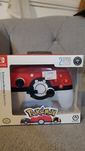 *NEW AND OFFICIAL* Nintendo Switch Pokeball controller