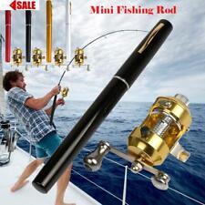 "38"" Mini Portable Pocket Alloy Fishing Rod Rack Pen Backpack and River Reel 2020"
