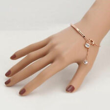Top Quality  Style Cubic Zirconia Rose Gold  Bracelet Jewelry  Crystal Wholesale