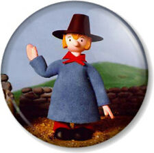 """Windy Miller Camberwick Green 1"""" 25mm Pin Button Badge Retro Kids TV Stop motion"""