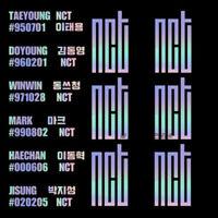 2019 New Kpop NCT HOLOGRAM Laser Sticker MARK RENJUN Phone Case Stickers