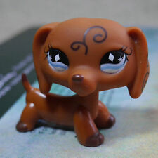Brown Dachshund dog #640 HTF LITTLEST PET SHOP LPS mini Action Figure