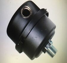 """Metal Pond Aerator Pump Inlet Air Filter + spare! Thomas, Gast & other 1/4"""" Npt"""