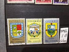 SELLOS DE COLOMBIA . USADOS.  YVERT Nº 594/6