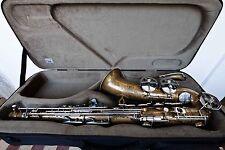DOLNET ''Bel Air'' Vintage Tenor Saxophone Professional + BAM SAX TREKKING CASE