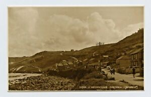Sennen Cove in Cornwall, England B&W RPPC Postcard Pub. Judges Ltd.