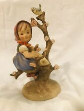 New ListingVintage Goebel Hummel Figurine #141 Apple Tree Girl Full Bee Tmk2 6-1/2""