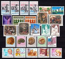 Luxembourg jaar/ann 1984 MNH Yv = 49,50 Euro vo1061