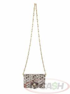 BIDSALEONLY! AUTHENTIC $2900 GUCCI Mini Python Broadway Roccia Fuxia Bee Bag