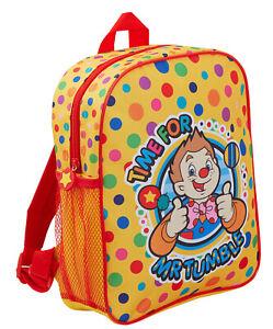 Cbeebies Mr Tumble Kids Backpack Boys Girls Something Special Nursery Pram Bag