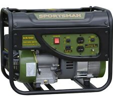 Portable Generator Gasoline 2000W Gas Two 120V Outlets Power Electricity Station