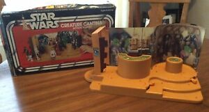 Vintage Star Wars Creature Cantina Playset Kenner 1979 with Box Nice