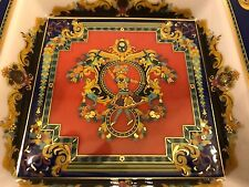 Rosenthal Germany Versace Le Roi Soleil Pattern Square Dish - Rare