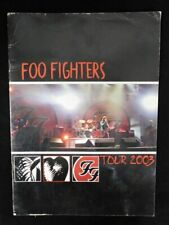 Foo Fighters 2003 One By One Concert Tour Original Program (David Grohl)