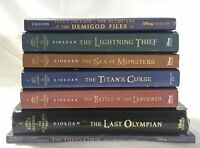 Lot of 7 Percy Jackson & The Olympians Books 1-5 + 2 Bonus Books Mixed Lot