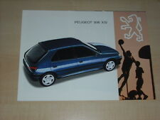 45158) Peugeot 306 XSi Prospekt 199?