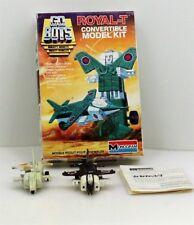 ROYAL-T Convertible Model Kit 1984 Vintage GO BOTS MONOGRAM Tonka LOT