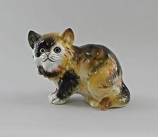 Bambino gefleckte Gatto Ens Figurine Porcellana 15x12cm 9997145