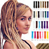 "1pc 20"" Handmade Dreadlocks Synthetic Crochet Braids Dreads Locs Hair Extensions"