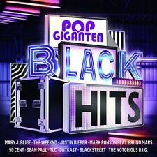 POP giganti-Black Hits-Mary J Blige, Outcast, TLC, Wu-Tan Clan/+ 2 CD NUOVO