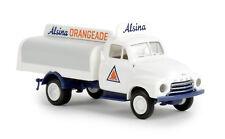 """Opel Blitz getränkeaufbau """" Alsina """", H0 Car Model 1:87, Brekina 35331"""