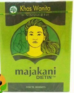 3 BOXES MAJAKANI OAK GALL DIETIN FOR TIGHTENING VAGINAL MUSCLE & INCREASE INTAMC