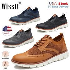 Men's Dress Shoes Casual Dress Shoes Lace Up Oxford Shoes Business Wingtip Shoes