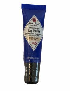 Jack Black Shea Butter Vitamin E Intense Therapy Lip Balm 0.25 Oz SPF 25 Sealed